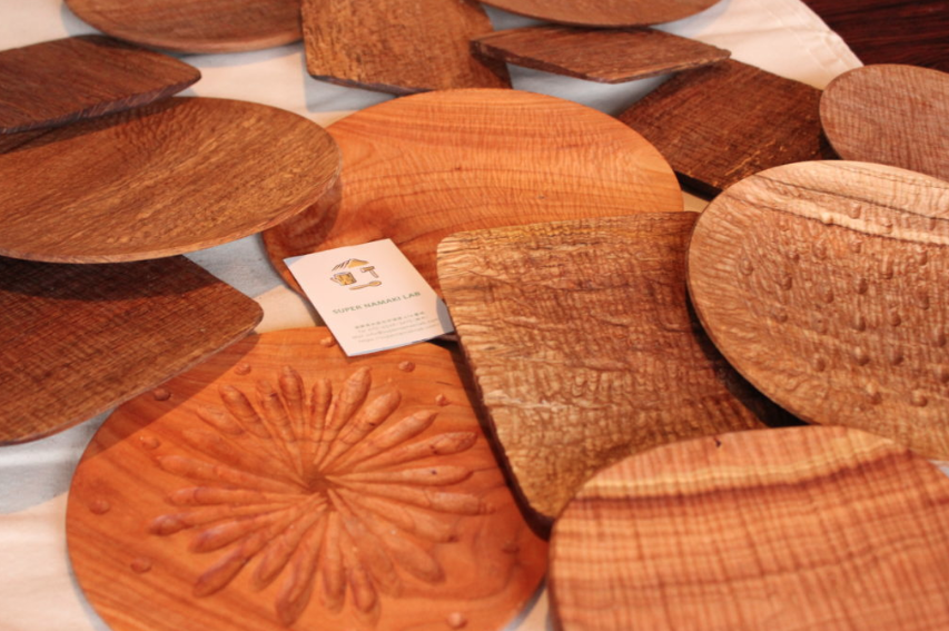 木のパン皿ワークショップ