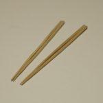 生木で作ったお箸